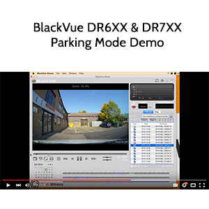 Image: BlackVue Parking Mode Demo