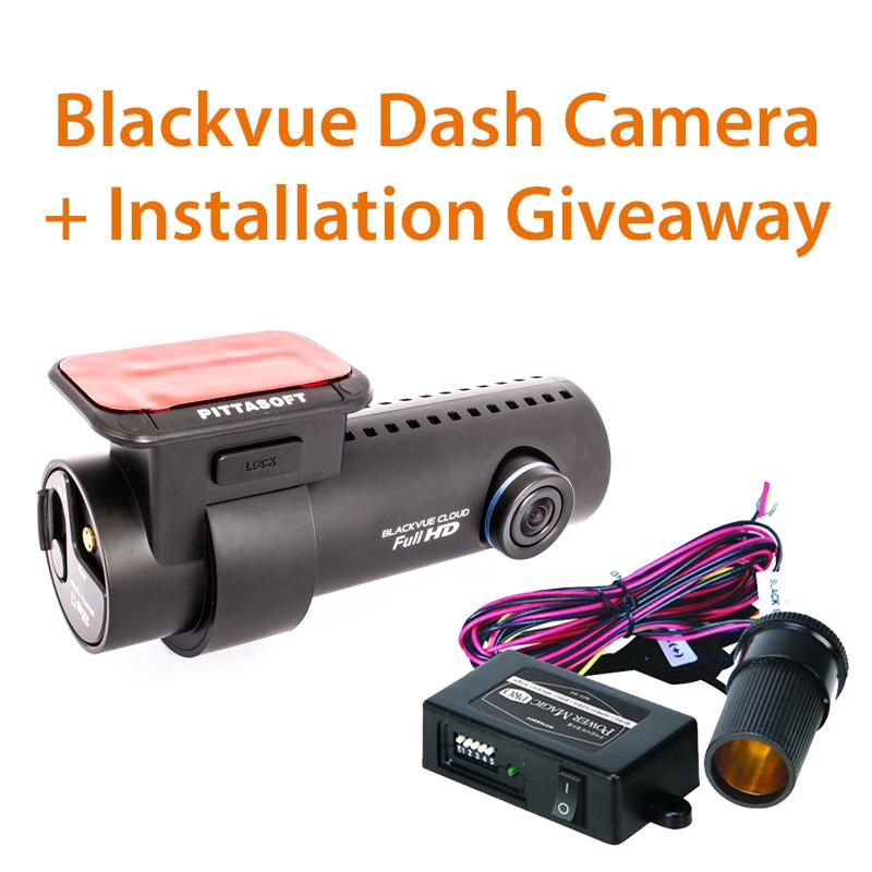Dash Cam Giveaway