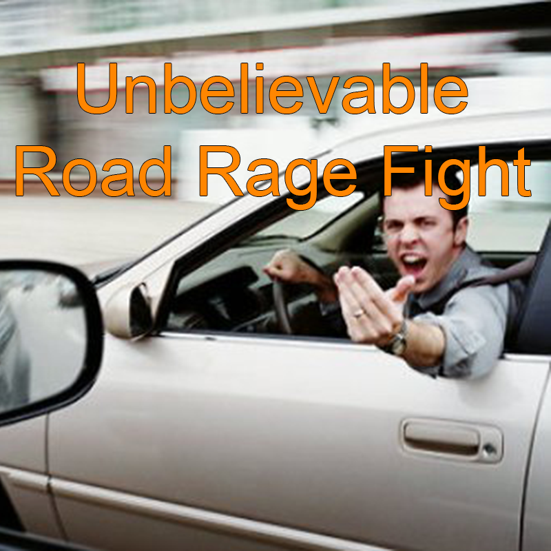 Road Rage Fight
