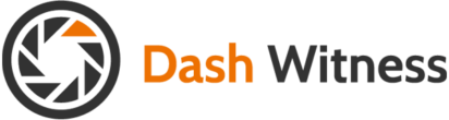 Dash Witness Text Logo