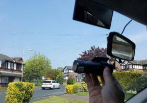installation of dash cam