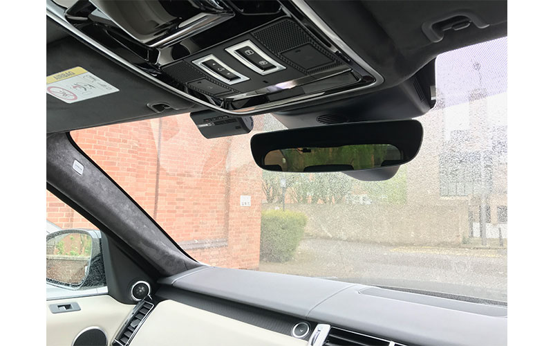 Range Rover Sport Dash Cam - Finished Product