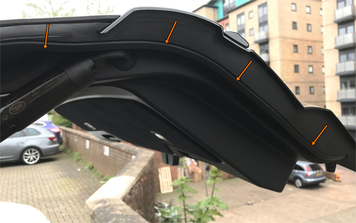 Range Rover Sport - Rubber Side Trim